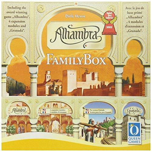 アルハンブラ ファミリーボックス ※アルハンブラ本体、拡張セット1、グラナダのセットです