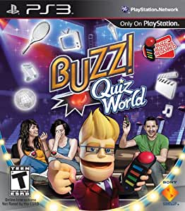 Buzz! Quiz World (Game Only) (輸入版) - PS3