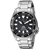 """Orient Men's""""Neptune"""" Japanese Automatic/Hand-Winding JIS Certified 200 Meter Diver's Watch with Sapphire Crystal"""