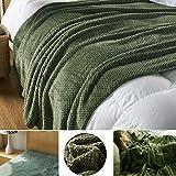 毛布 ブランケット ひざ掛け 多機能 シーツ 無地 高品質 厚手 暖かい 柔らかい 昼寝に対応 ベッド ソファー用 ベッドランナー ベッドスロー オフィス用 防ダニ 抗菌防臭 (150x200)