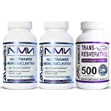 MAAC10 NMN Resveratrol NAD Booster Combo Pack - Nicotinamide Mononucleotide NAD+ Supplement 250mg (60 x 125mg NMN Capsules) 9