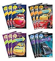 KaleidoQuest Bundle of 12 Disney Pixar Cars 3 Grab & Go Play Packs