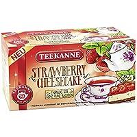 Teekanne ストロベリー チーズケーキ フルーツティー ストロベリーとチーズケーキのフレーバー付き (2 x 18バッグ)