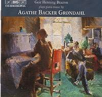 Piano Music by GRONDAHL AGATHE BACKER (2001-02-27)