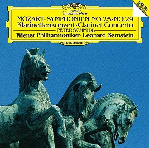 モーツァルト:交響曲第25番&第29番、クラリネット協奏曲
