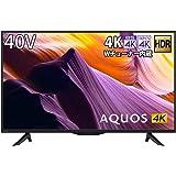 シャープ 40V型 4K チューナー内蔵 液晶 テレビ AQUOS HDR対応 4T-C40BH1 2019年モデル