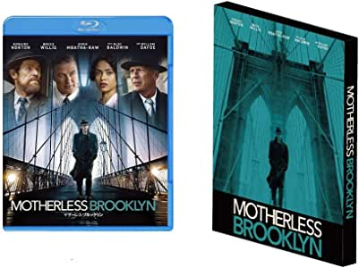 【Amazon.co.jp限定】マザーレス・ブルックリン ブルーレイ&DVDセット (2枚組)(アウターケース付) [Blu-ray]