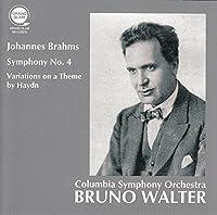 ブラームス : 交響曲 第4番 | ハイドンの主題による変奏曲 (Johannes Brahms : Symphony No.4 | Variations on a Theme by Haydn / Bruno Walter | Columbia Symphony Orchestra)