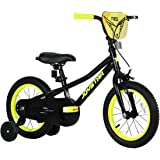 JOYSTAR Angel Girls Bike 12 14 16 18 Inch Kids Bike with Training Wheels for 2-9 Years Old, 18 Inch Kids Bike with Kickstand,
