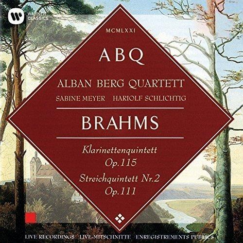 ブラームス:クラリネット五重奏曲&弦楽五重奏曲第2番...