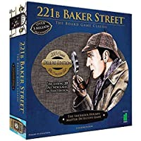 Deluxe 221B Baker Street Board Game - 200 Intriguing Adventures 2-6 Players [並行輸入品]