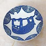 倉敷意匠 計画室 kata kata カタ カタ 印判手七寸皿(ぶらさがり) なまけもの