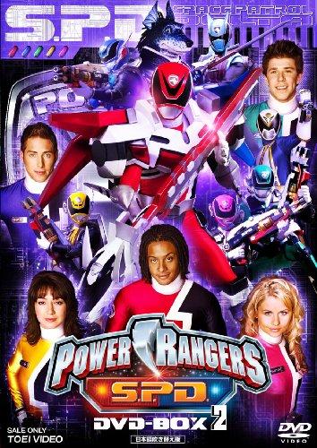 POWER RANGERS S.P.D. DVD-BOX 2 DVD