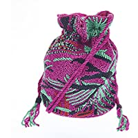 From St Xavier Women's Catalina Drawstring Bag, Bright Pink, One Size