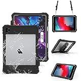iPad Pro 11 2020 モデル 防水ケース タブッレトケース 完全防水IP68規格 スタンドとストラップ付き[Apple Pencil2のペアリング&充電に対応][新しいMagic KeyboardとFace ID 完全対応]米軍MIL規格