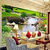 Sproud 3 D の大きな壁画がベッドルームのリビングルームの Tv のソファの背景の壁紙壁紙 350 Cmx 245 Cm を展開します