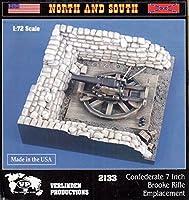 ver21331: 72Verlinden Confederate 7インチBrookeライフルemplacement [ Model Building Kit ]