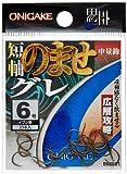 ハヤブサ(Hayabusa) 鬼掛 広層グレ のませ 5号 イブシ茶 B825D1-5