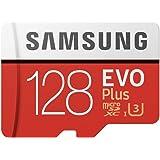 Samsung microSDXC カード 128GB EVO+ Class10 UHS-I U3対応 最大読込速度 1…
