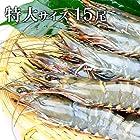 築地魚群 ブラックタイガーエビ有頭(特大サイズ)15尾