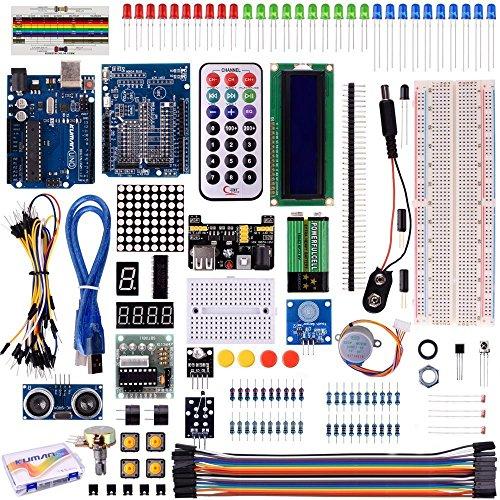 Kuman 40 in 1 Arduino用キット 初心者 アルドゥイーノメ...
