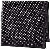(ムーンバット)MOONBAT Mix Factory 洗えるシルク プチスカーフ ドット 24-302-61169 15-00 ブラック 60*60cm