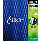 Elixir エリクサー エレキギター弦 OPTIWEB Light .010-.046 #19052 【国内正規品】