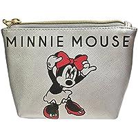 ディズニー シボ合皮ポーチ ミッキーマウス&ミニーマウス APDS3442