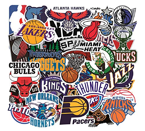 NBAチーム ロゴ一覧 エンブレム バスケットボール ステッカー テガール シール32枚A