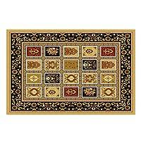 カーペットトルコスタイルのラグ寝室リビングルームコーヒーテーブル毛布ベッドサイドホーム印刷と染色カーペット XLSM (Size : 120CM×160CM)