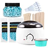 Wax Kit Professional Electric Wax Heater,Hair Removal Hot Wax Warmers Waxing Pot Wax Melts,Wax Heater Hair Removal Kit with A