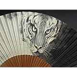 京扇子 男性用 「白虎」 日本製