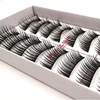 cokool 磁気まつげ 100%超薄いミンクヘア、クリーンナチュラルルック、魅力的な美容偽のまつ毛 目アクセサリー アイメイクアップ サロン まつげ エクステンション 練習用 メークアップ トレーニング用 まつ毛 12-14mm 10ペア