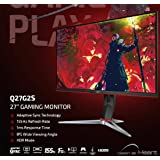 "AOC Q27G2S 27"" 155Hz 2K QHD IPS Gaming Monitor"