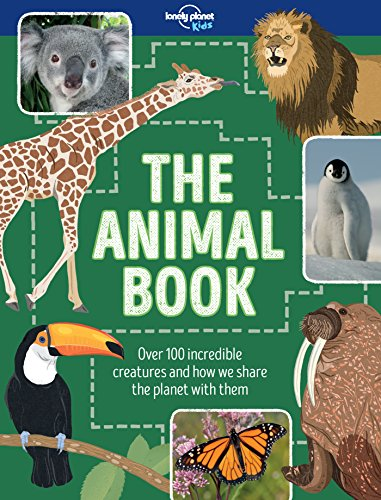 The Animal Book: Lonely Planet Kids, Ruth Martin, Dawn Cooper