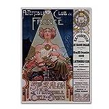 商標FineアートポスターLivemont 1902?byビンテージLavoie、14?x 19インチキャンバス壁アート