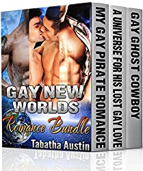 Gay New Worlds Romance Bundle: MM Gay Paranormal and Sci-Fi (English Edition)