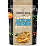 The Golden Duck Golden Duck Salted Egg Yolk Fish Skin Crunchy Crisps, 125 g