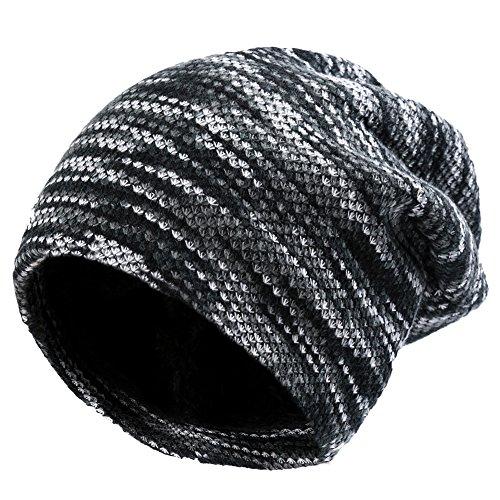 VBIGER ニット帽 ビーニーキャップ ユニセックス 防寒 保温 スキー スノボ スポーツ アウトドア 冬 男女兼用 帽子