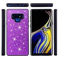 Samsung Galaxy Note 9 シェル, プロテクター 男性用 男性用 バック カバー 保護 シェル 〜と 男性用 の Samsung Galaxy Note 9 (Purple)