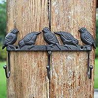 HZB アメリカのフック、農村アンティークの鋳鉄工芸品、アイアンフック、服フック、フック、服とフック、鳥フック。