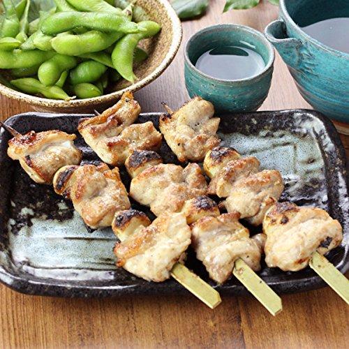 水郷のとりやさん 国産鶏肉 にんにく焼き 塩味 3本入 大蒜ともも肉の焼き鳥