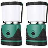 Consciot Camping Lantern with Super Brightness 1000LM, Battery Powered LED Lantern with 4 Lighting Modes, Waterproof, Portabl