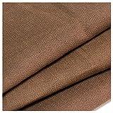 カットクロス 柿渋染め[日本製]綿スラブ織キャンバス[巾108cm] (50cm, A色)