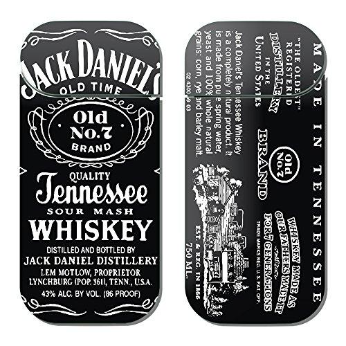 アイコス シール iQOS 専用 スキンシール デコ 裏表 2枚 セット A000402_02 フード ドリンク ジャック ダニエル 酒 洋酒 アルコール JACK