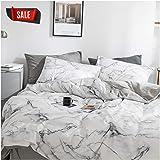 Elephant Soft Queen Duvet Cover Set, Premium Microfiber, Marble Pattern On Comforter Cover-3pcs:1x Duvet Cover 2X Pillowcases