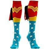 Bioworld Men's Wonder Woman Cape Knee High Socks