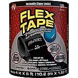 Flex Tape Rubberized Waterproof Tape 4 Inch x 5 Feet Black