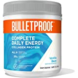 All-in-One Collagen Protein Powder with MCT Oil, Vanilla, 20g Protein, 17.8 Oz, Bulletproof Collagen Peptides Supplement with