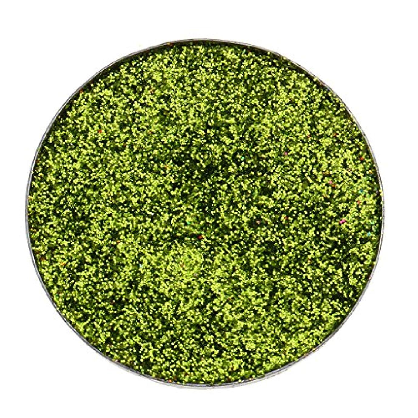 言うまでもなくイブニングぬいぐるみ全5色 ダイヤモンド キラキラ シマー メイクアップ アイシャドウ 顔料 長持ち 滑らか - 緑